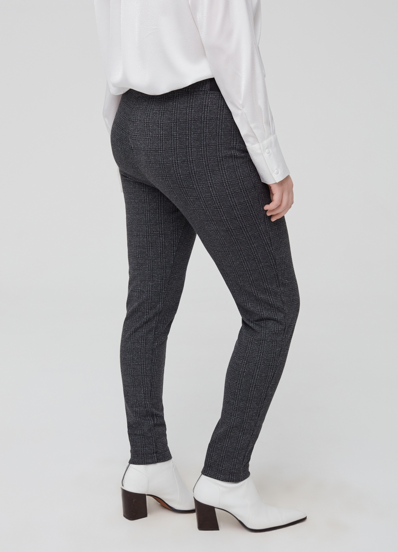 Curvy stretch viscose leggings image number null