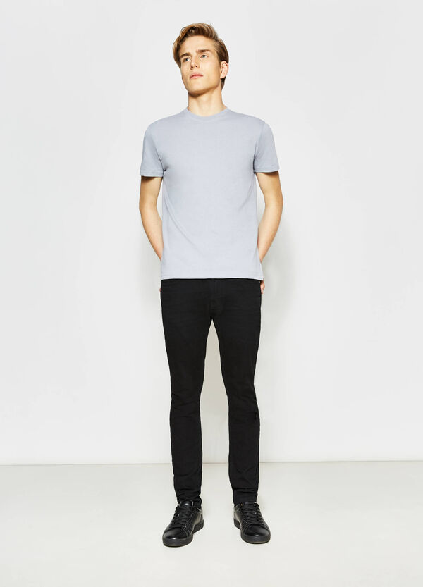 Cotton T-shirt with crew neck | OVS