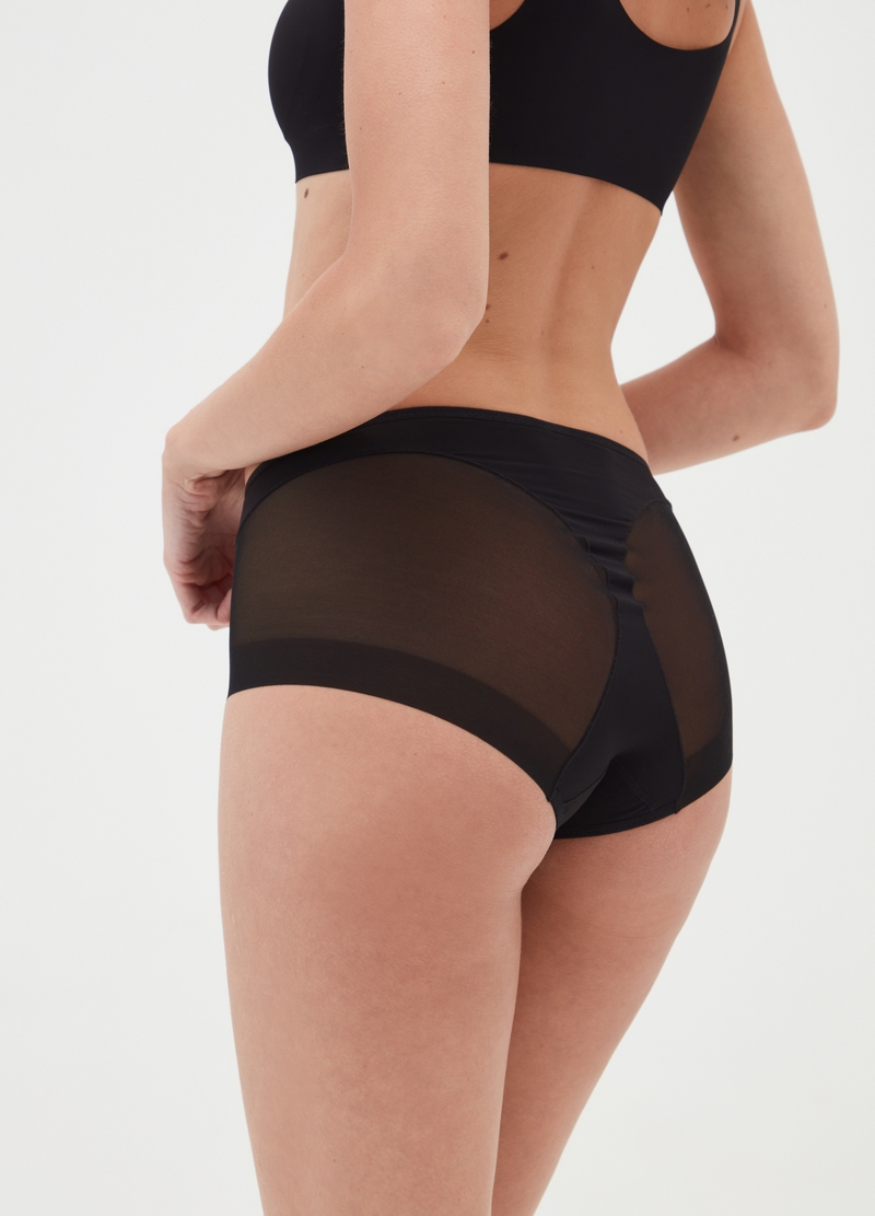 The Nude Effect French knickers in microfibre image number null
