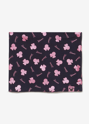 Neck scarf with Minnie Mouse pattern