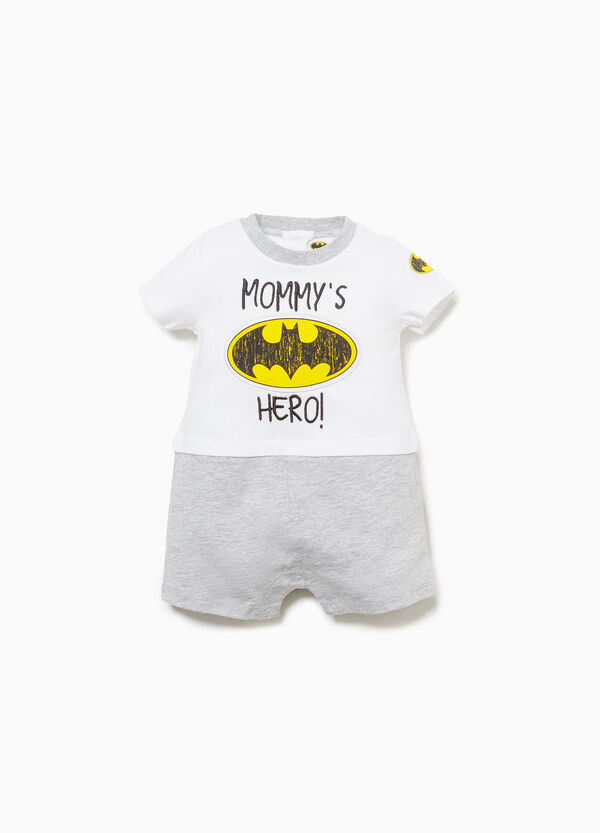 100% cotton  romper suit with Superman