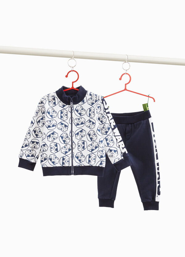 Tracksuit with Star Wars print and pattern