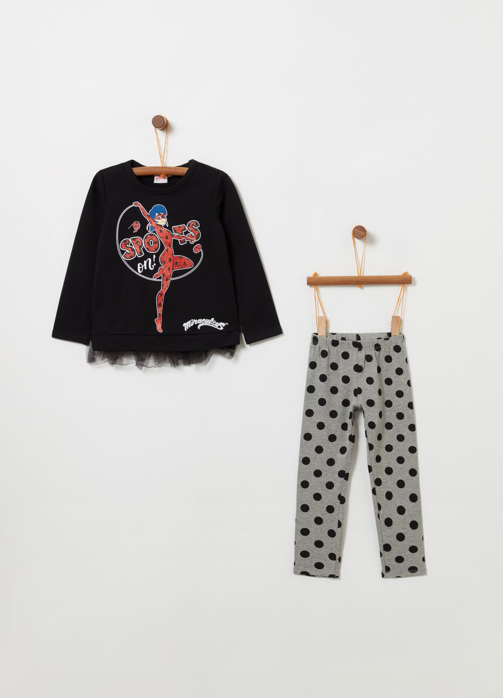 Jogging set t-shirt leggings Ladybug