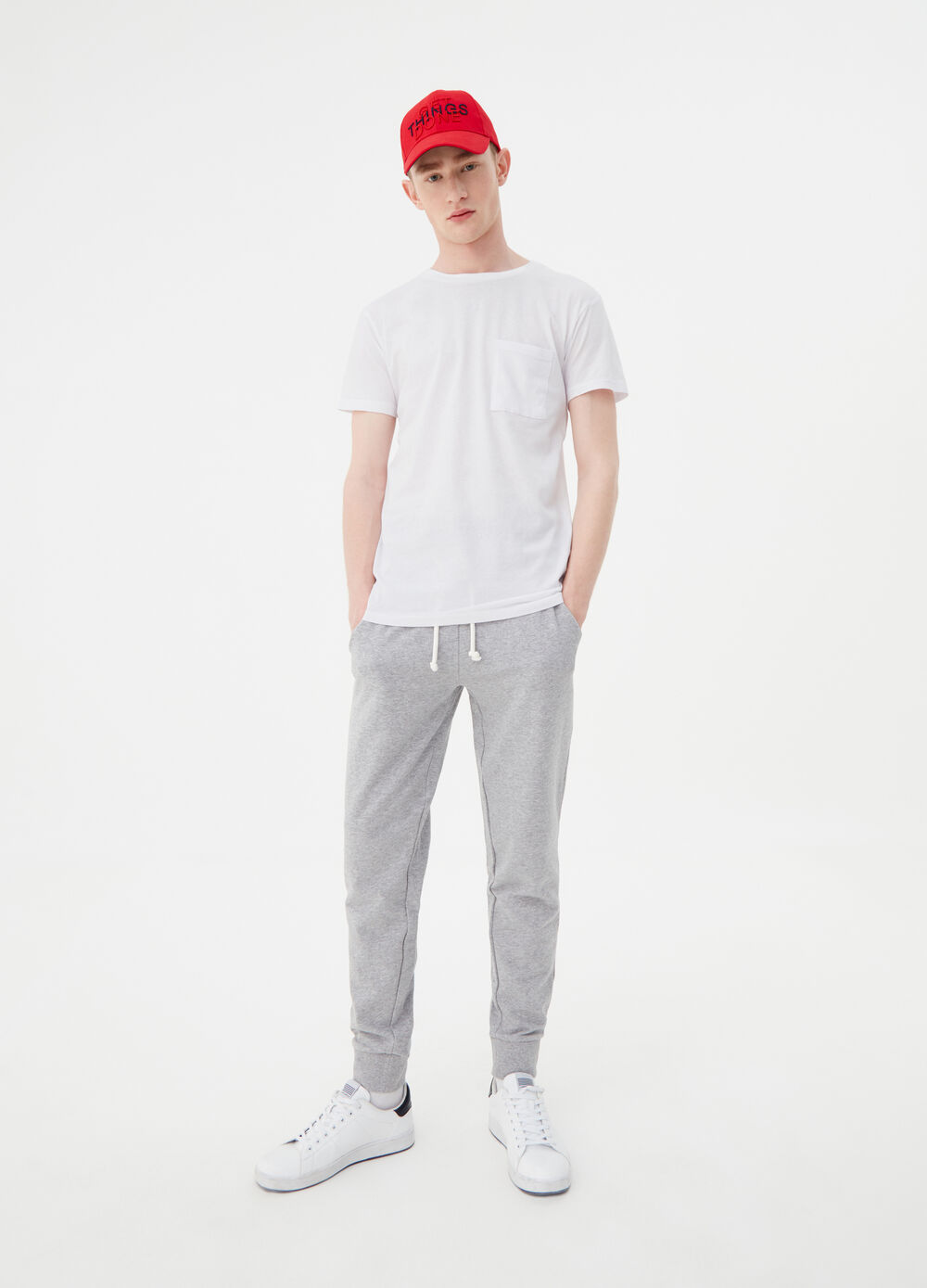 Pantalone lungo in French Terry