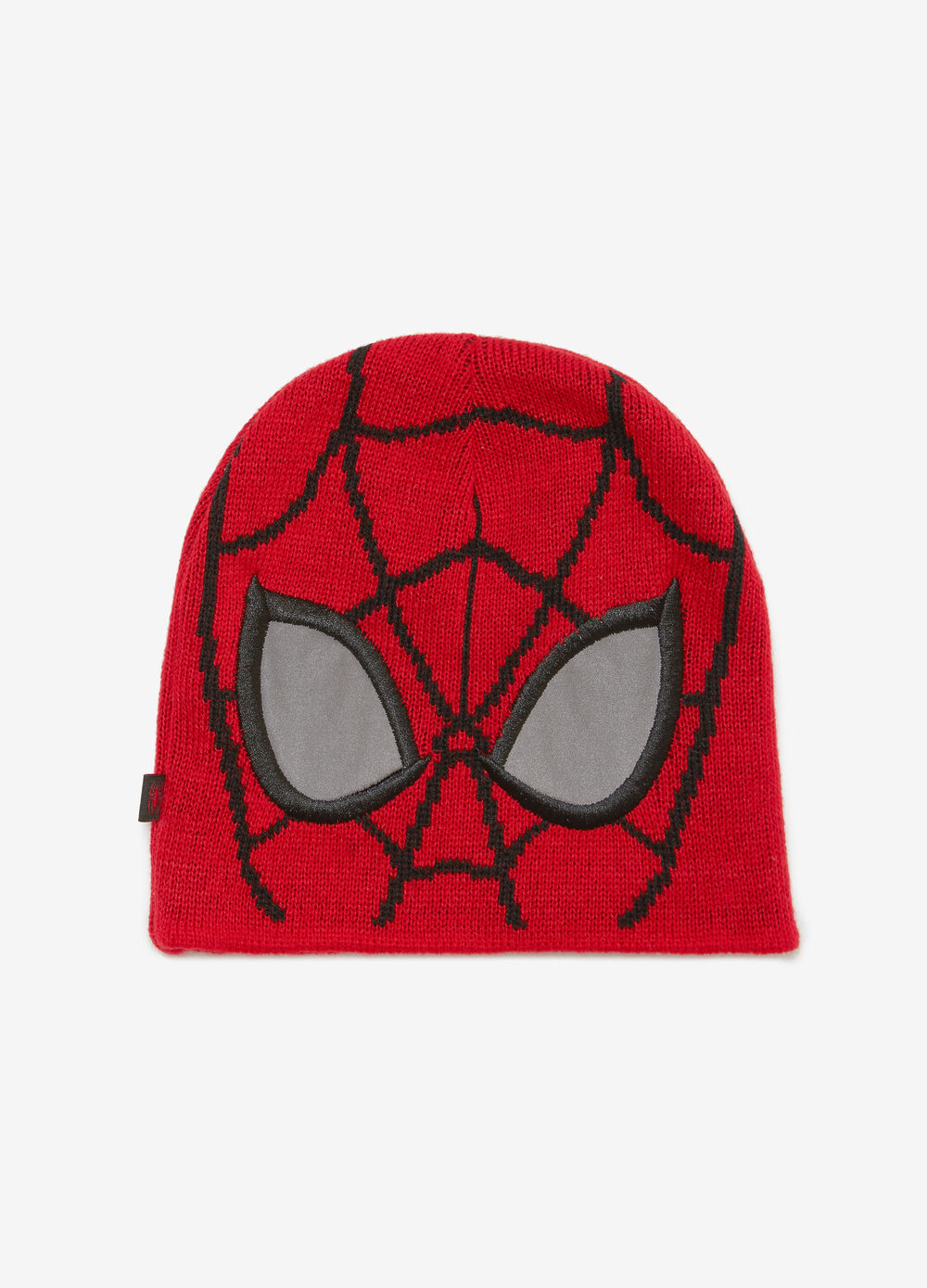 Cappello a cuffia tricot Spiderman