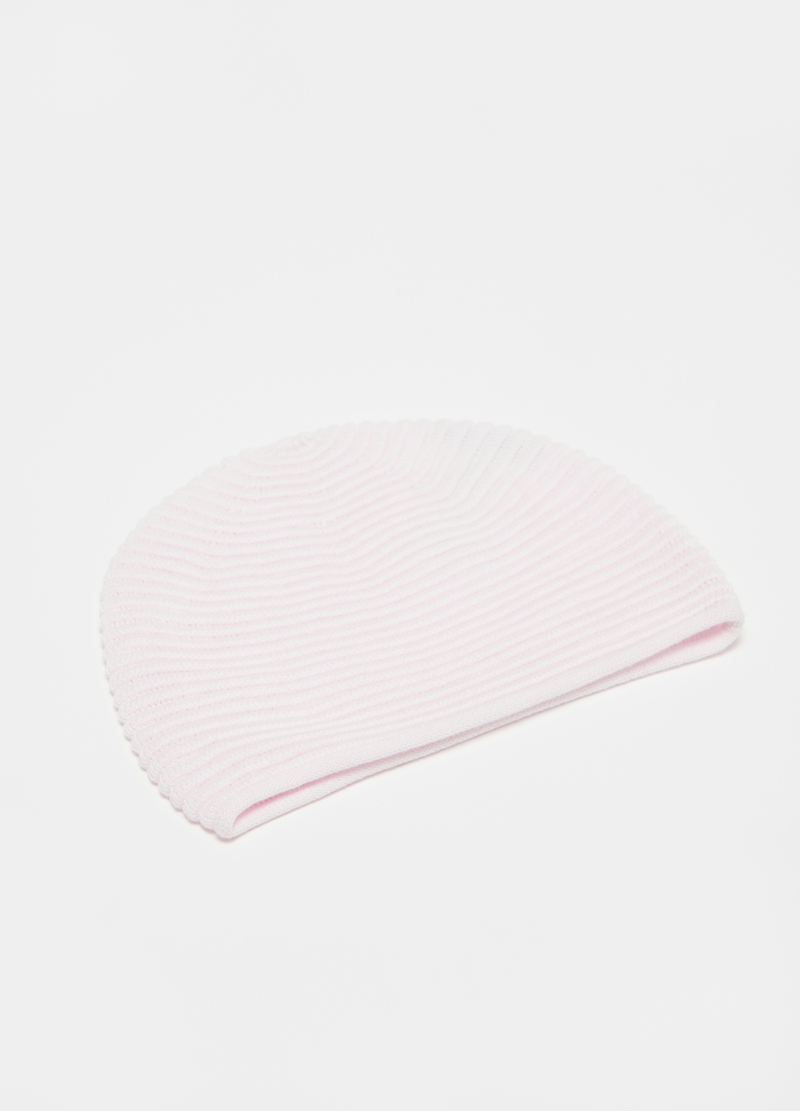 Hat in 100% cotton with striped weave image number null