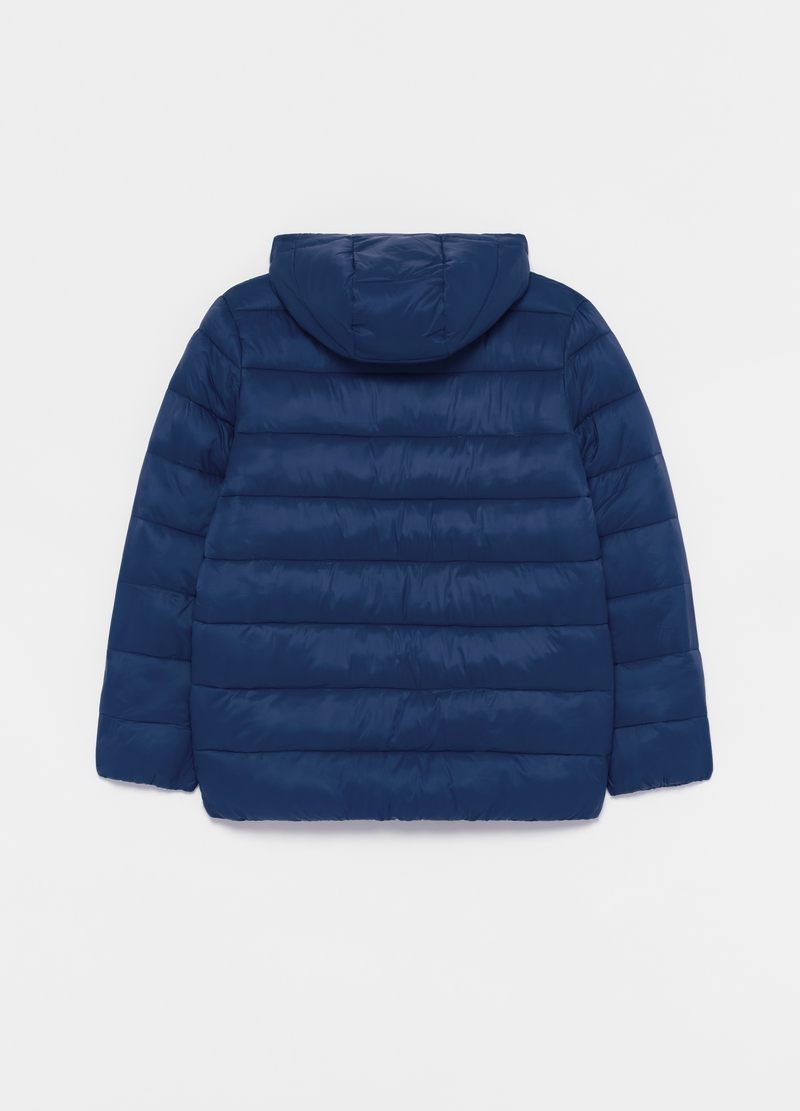 Full-zip quilted down jacket image number null