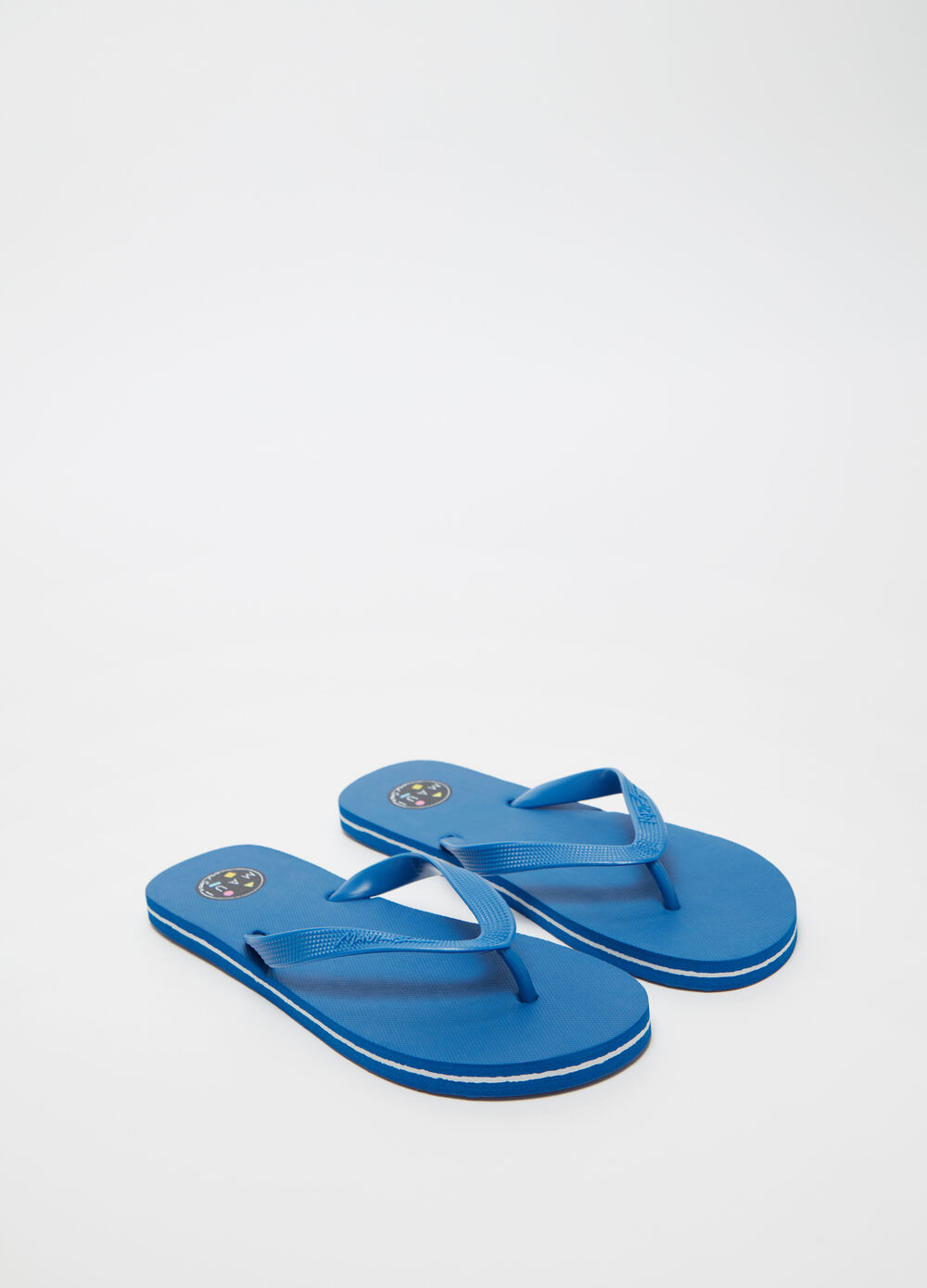 Maui and Sons printed thong sandal