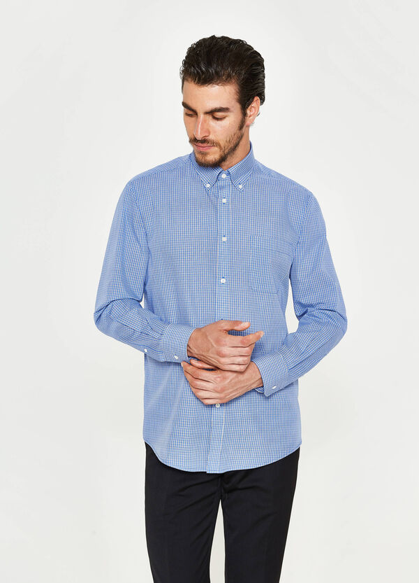 Camicia formale regular fit a quadri | OVS
