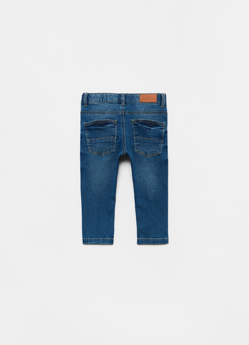 Stretch jeans with five pockets image number null
