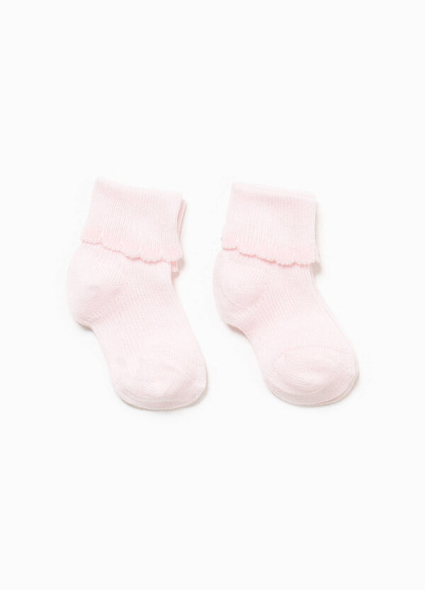Two-pair pack short cotton socks | OVS