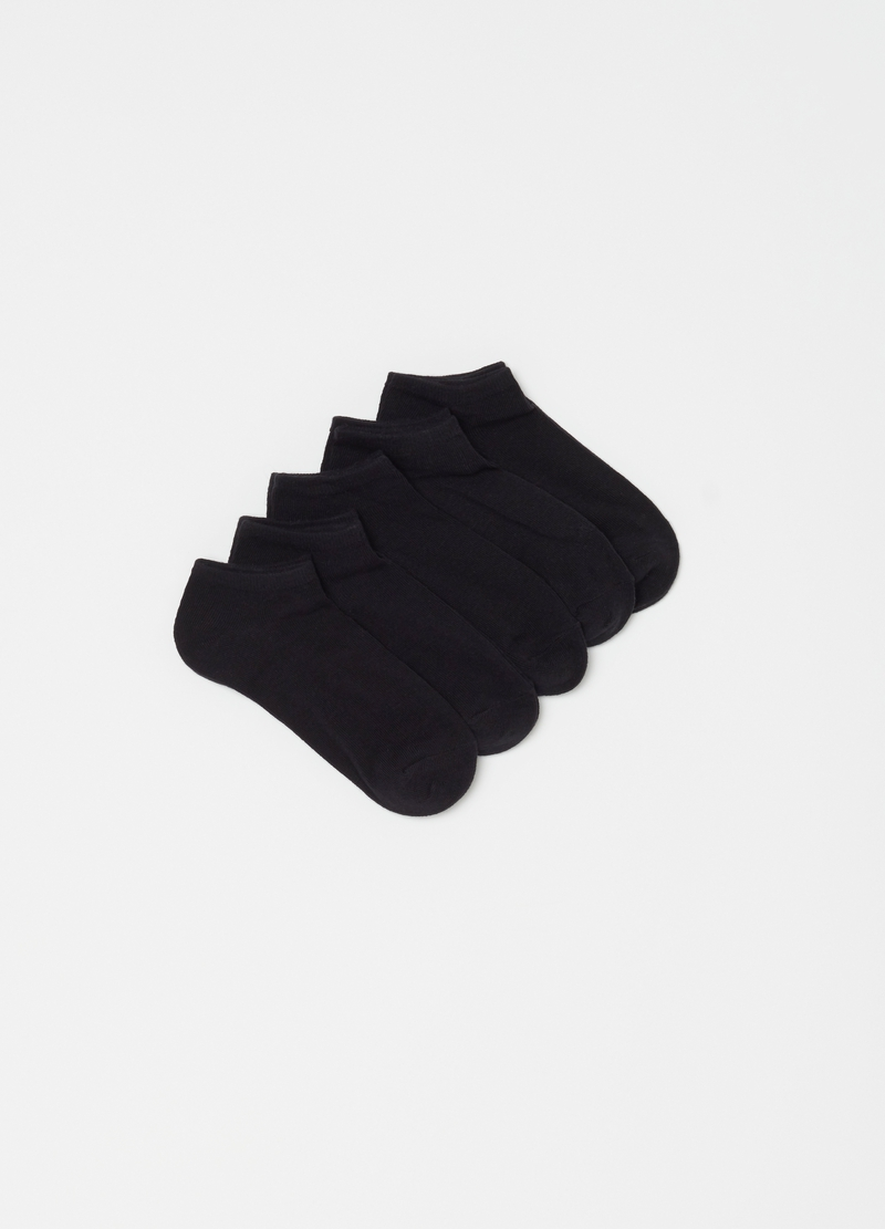 Five-pair pack shoe liners image number null