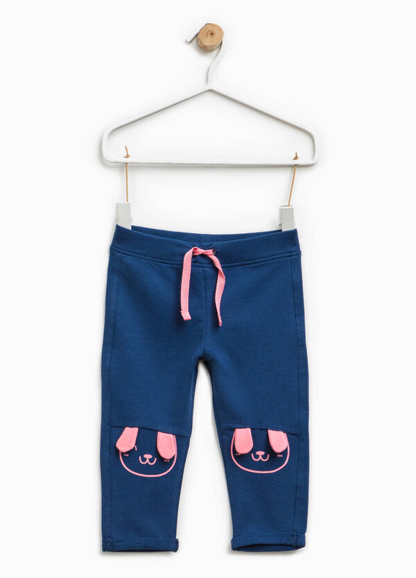 Cotton joggers with ears | OVS