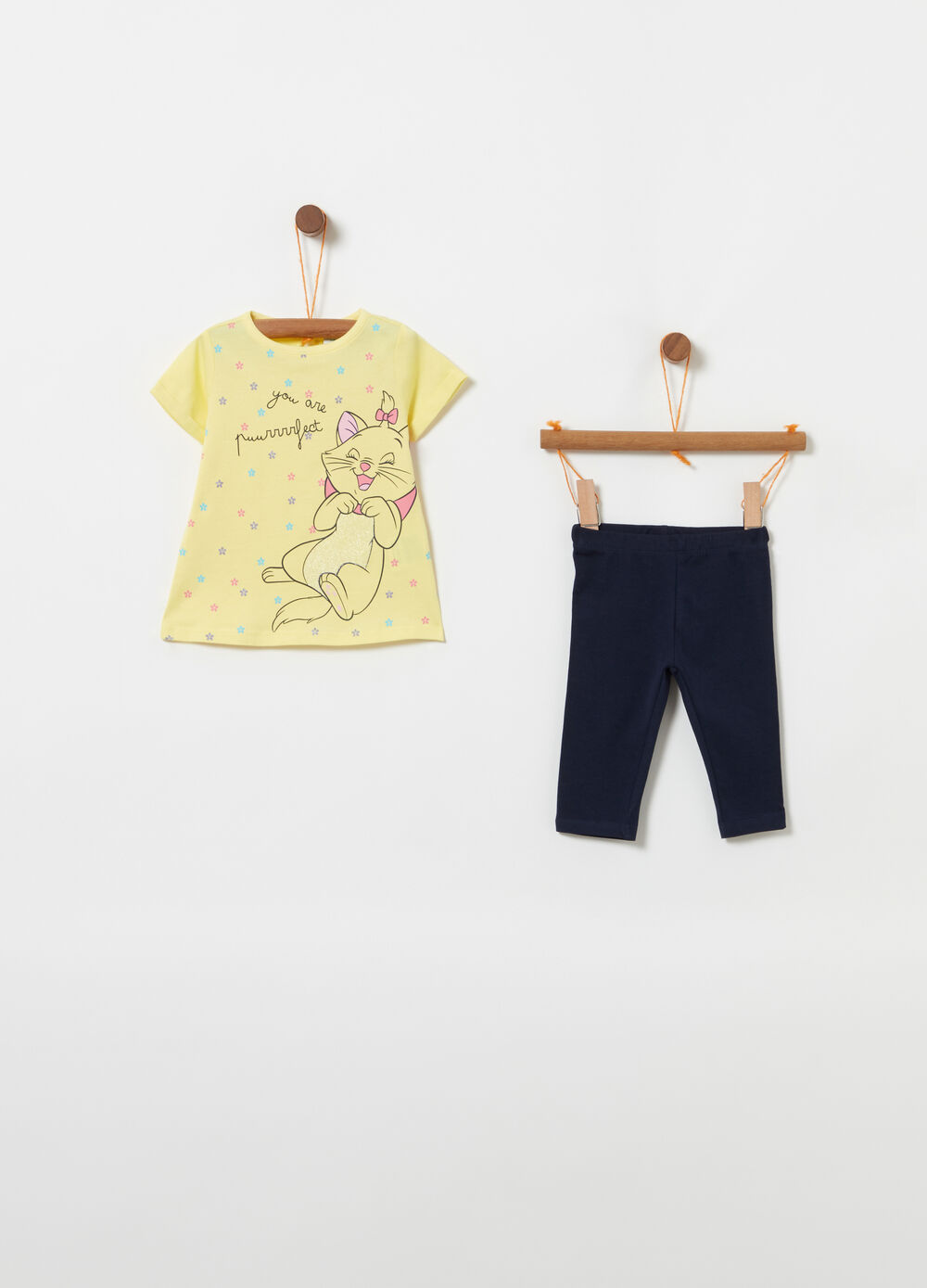 Jogging set stampa all-over Disney Baby