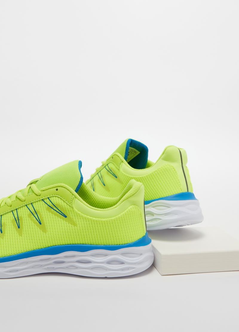 Sneakers con trama traforata image number null