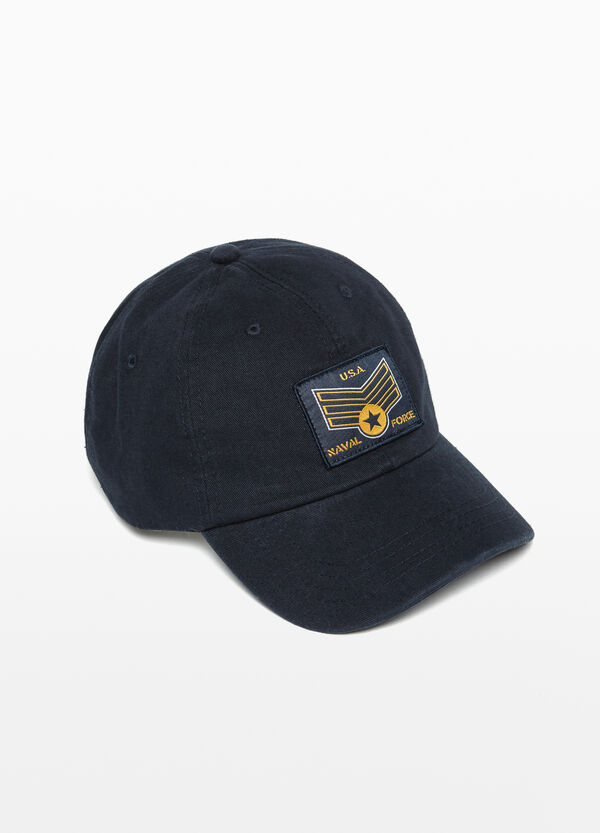 Cappello da baseball con patch