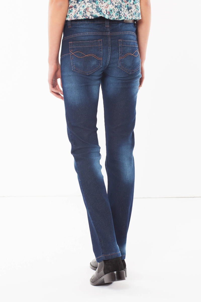 Slim fit jeans with rinsed effect image number null