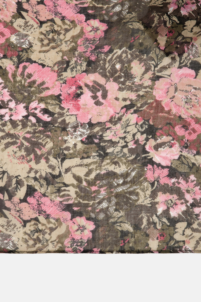 Floral scarf image number null