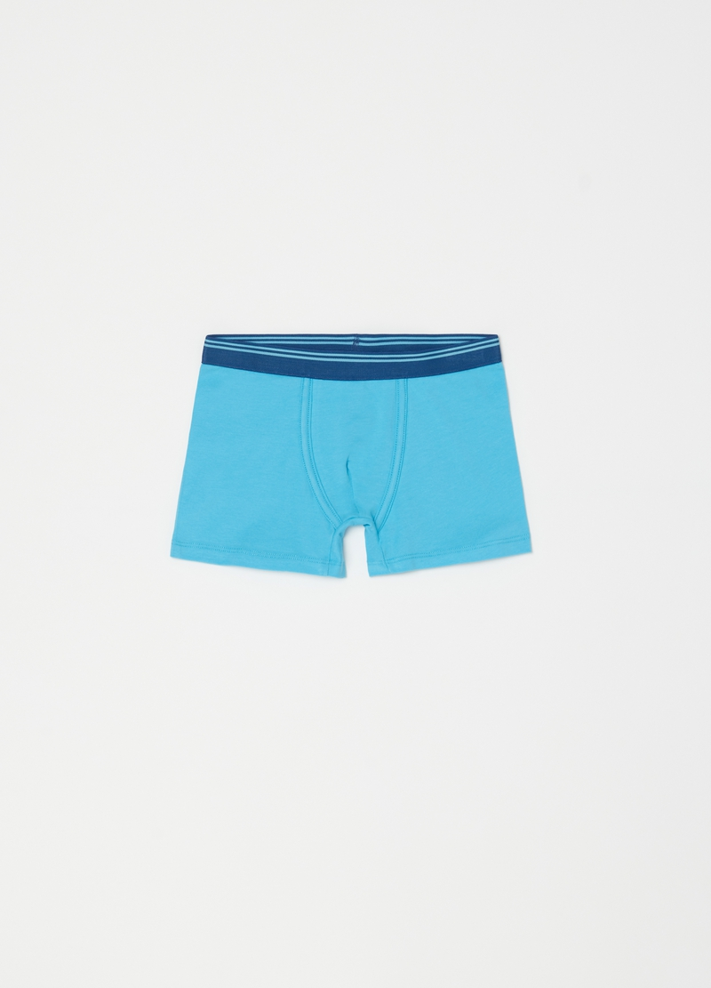 Three-pack organic cotton boxer shorts image number null