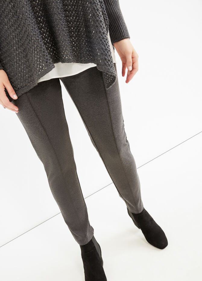 Curvy stretch cotton leggings