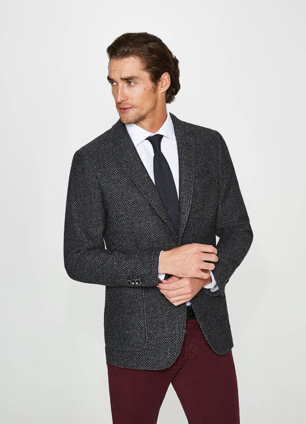 Rumford cotton blend jacket with two-button fastening | OVS