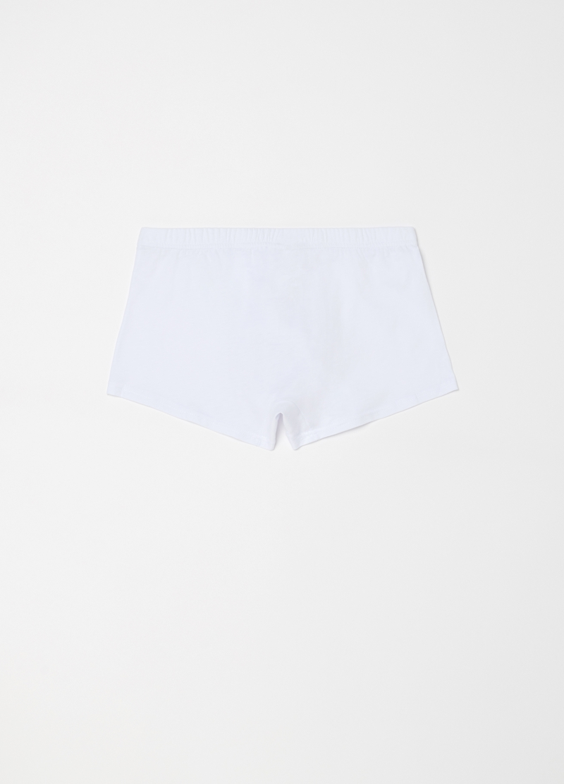 100% cotton boxers with elastic waist band image number null