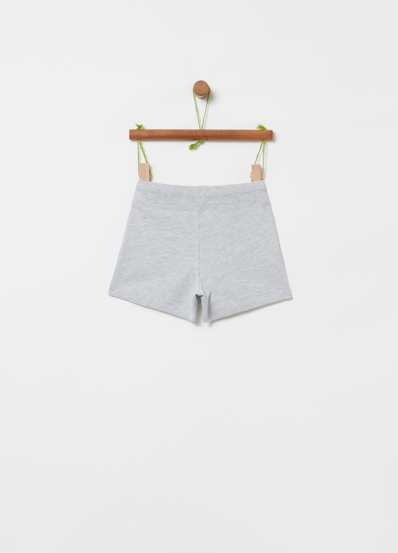 Short in French Terry con coulisse image number null
