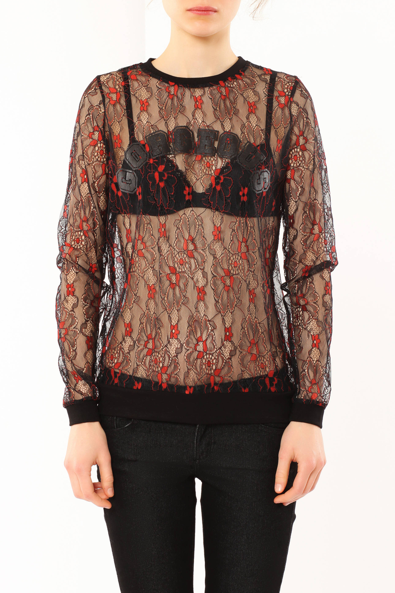 Lace T-shirt image number null