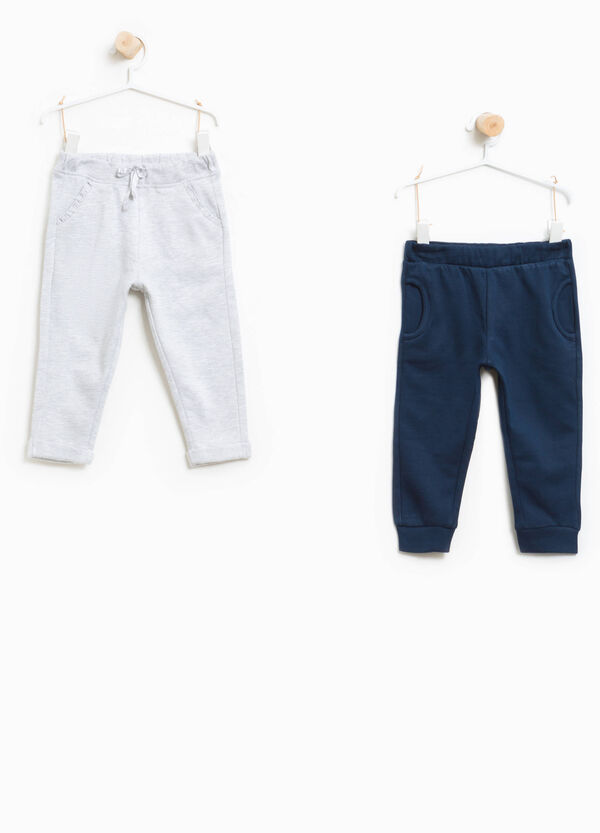 Two-pack trousers in 100% cotton | OVS