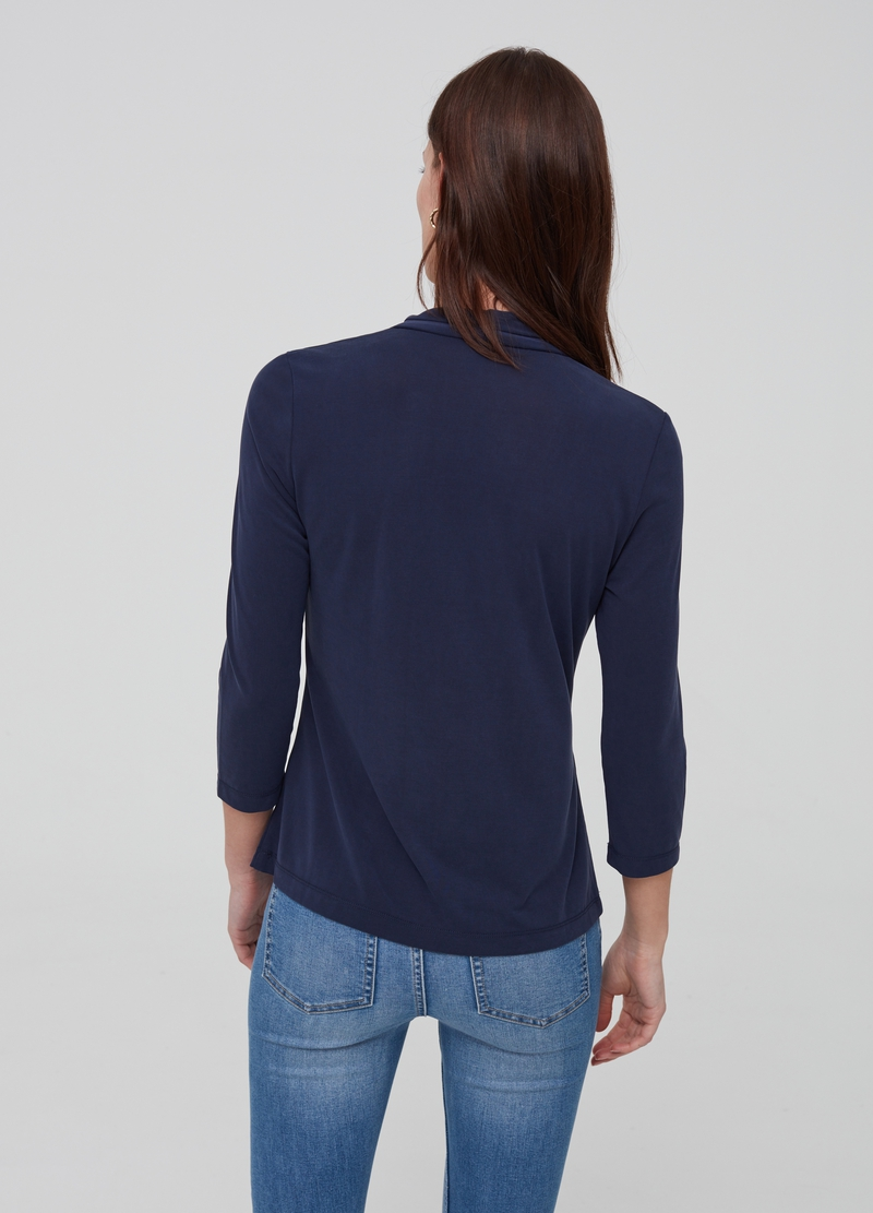 T-shirt in modal blend image number null