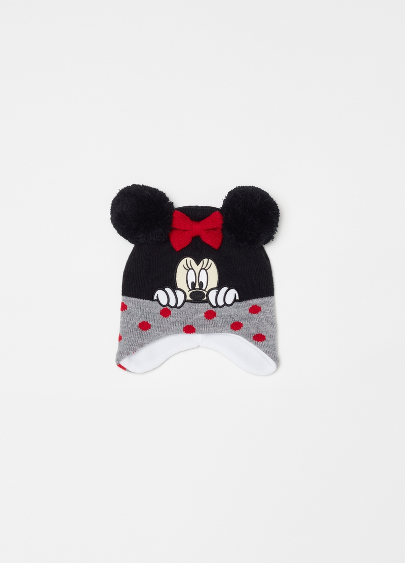 Berretto con fiocchetto ricamo Disney Minnie image number null