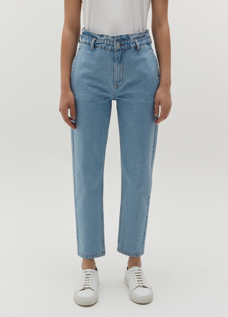 Cotton slouchy jeans image number null