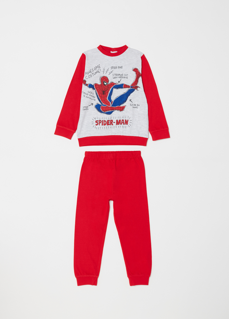 Marvel Spider-Man pyjamas in 100% cotton image number null