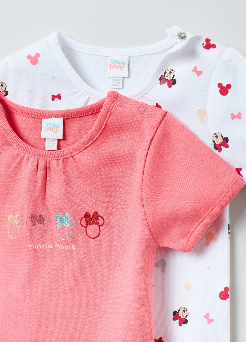 Bipack body in cotone Disney Baby Minnie image number null