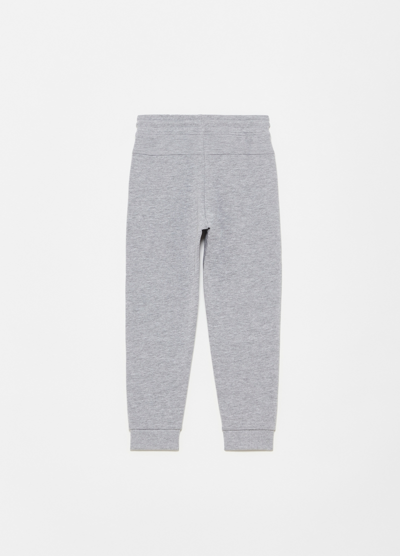 Joggers in French Terry con inserti image number null