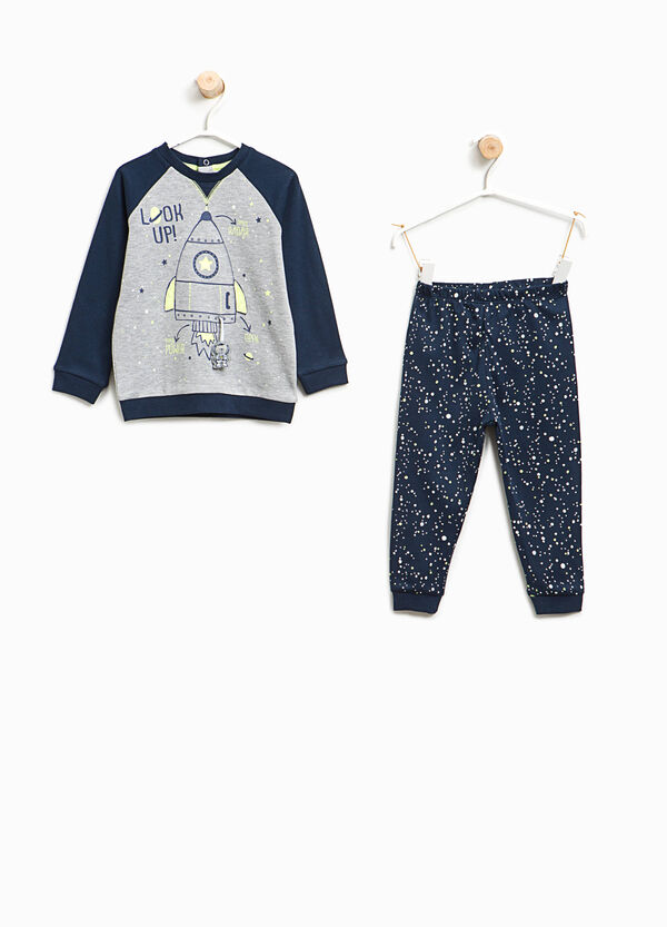 100% cotton pyjamas with print and pattern | OVS
