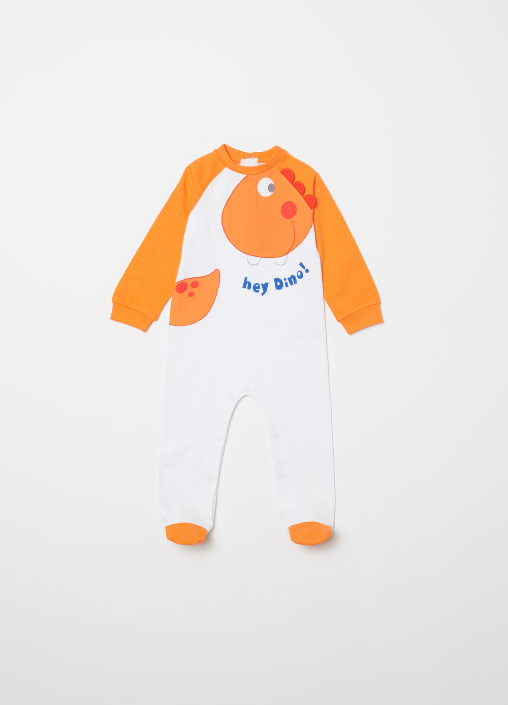 Two-tone sleepsuit