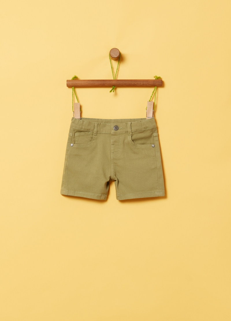 Five-pocket shorts image number null