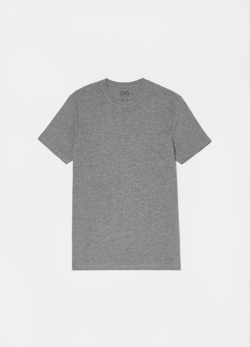 Three-tone cotton and viscose undershirts image number null