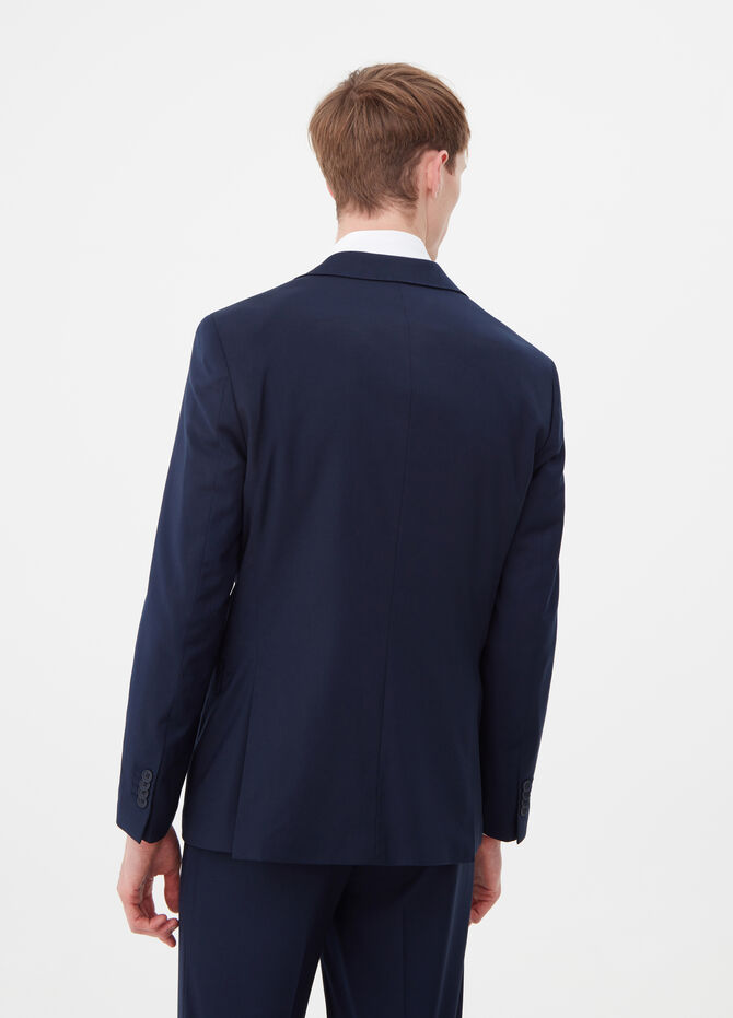 Regular-fit stretch blazer