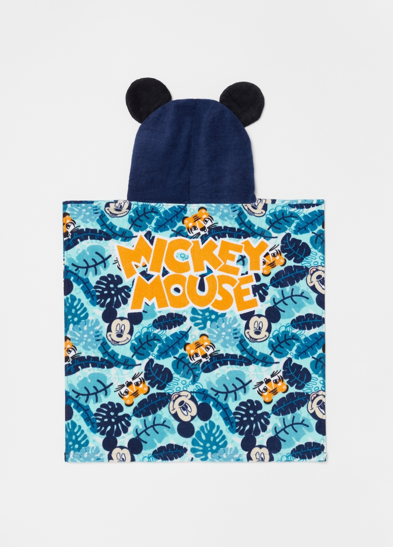 Beach poncho with Mickey Mouse pattern image number null