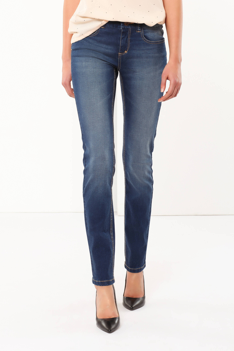 Regular fit stretch jeans image number null