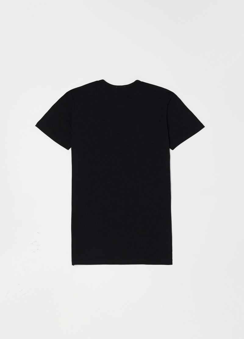 Stretch undershirt with round neck image number null