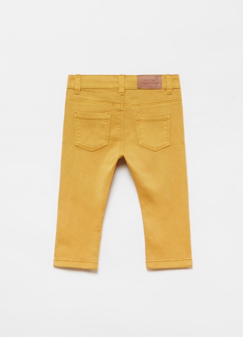 Stretch trousers with five pockets image number null