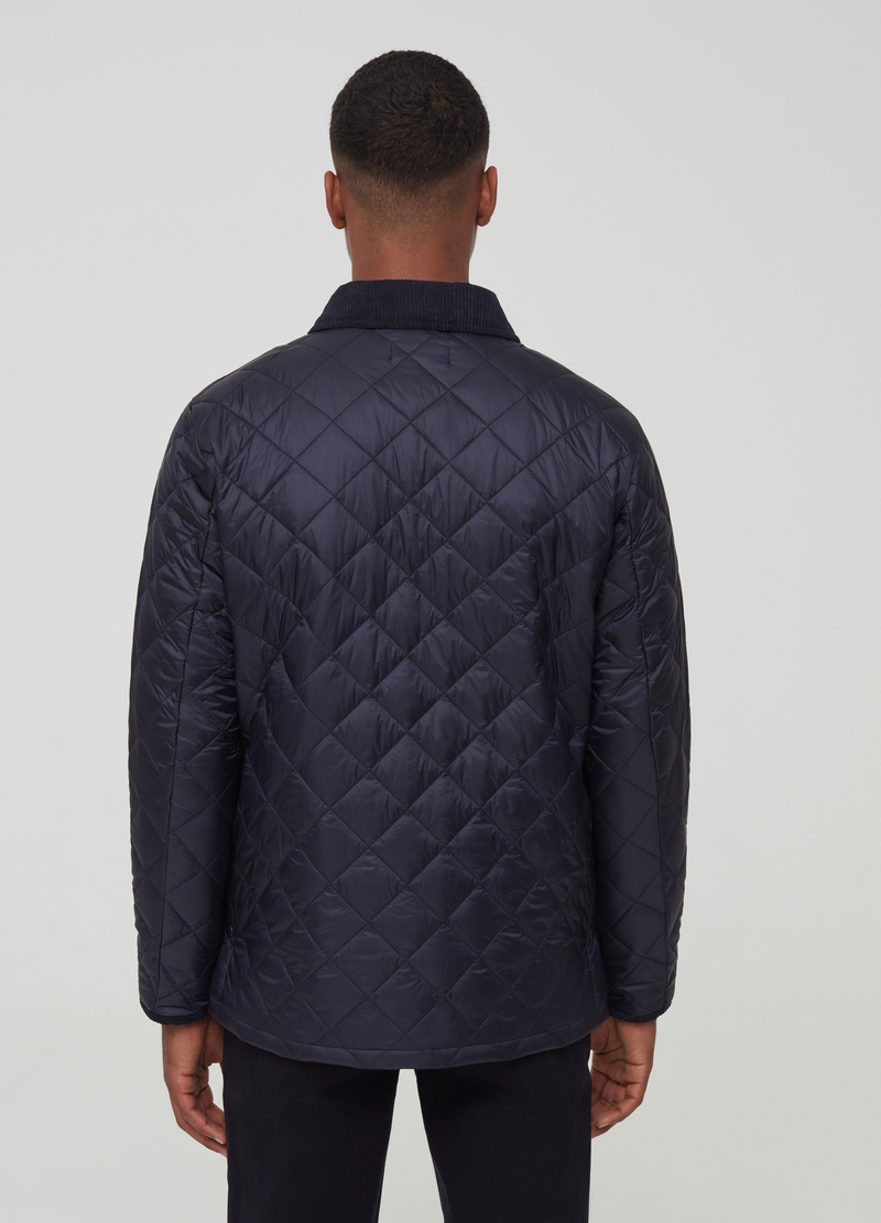 PIOMBO quilted jacket with collar image number null