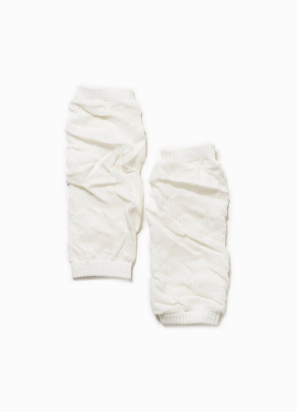 Creased leg warmers in cotton | OVS