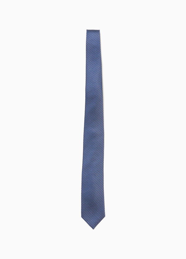 100% silk tie with speckled weave