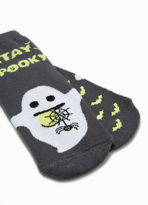 Ghost embroidered slipper socks | OVS