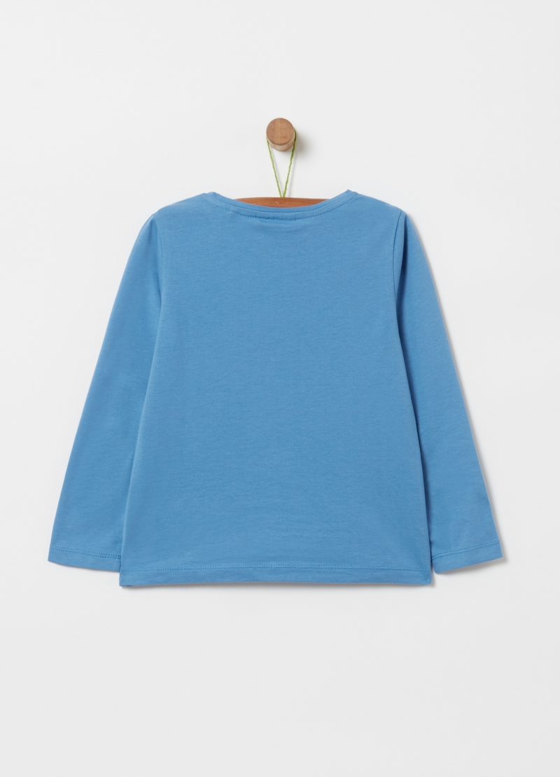 T-shirt in puro cotone con stampa image number null