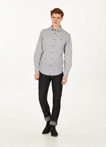 Casual shirt with micro pattern